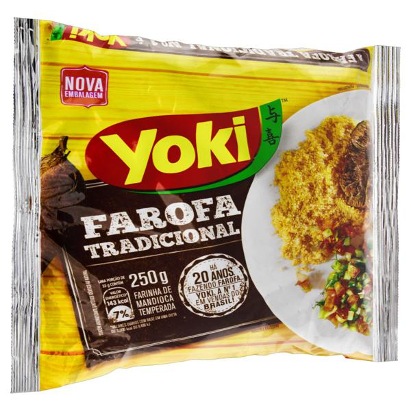 Farofa de Mandioca Tradicional Yoki Pacote  250g