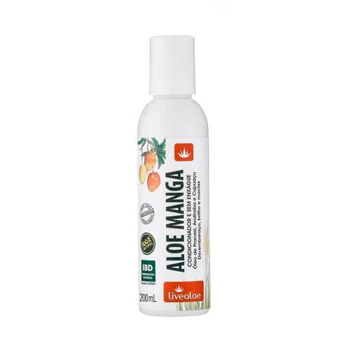 Condicionador e Creme Sem Enxágue Aloe Manga 200 ml - LIVEALOE