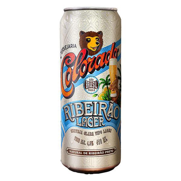 Cerveja Lager Ribeirão Colorado Lata 410ml