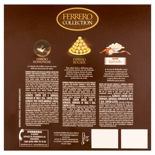 Bombom Ferrero Collection Caixa 77g 7 Unidades