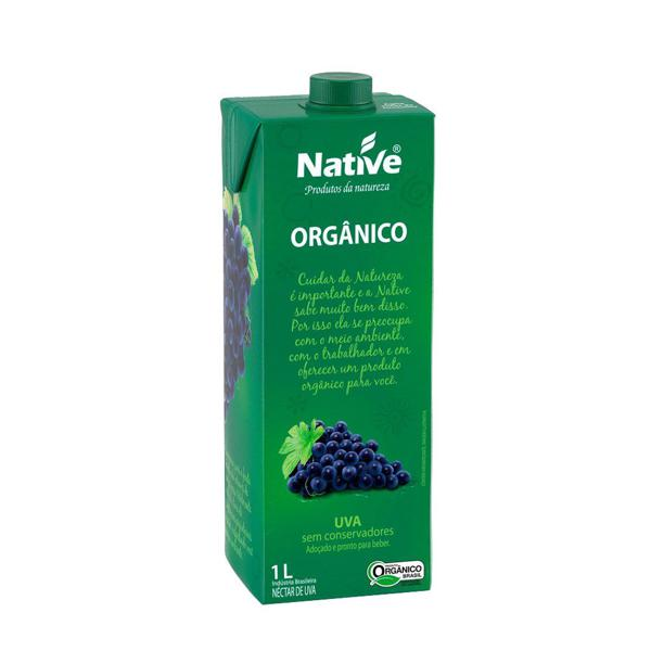 Néctar de Uva Orgânico 1L - Native