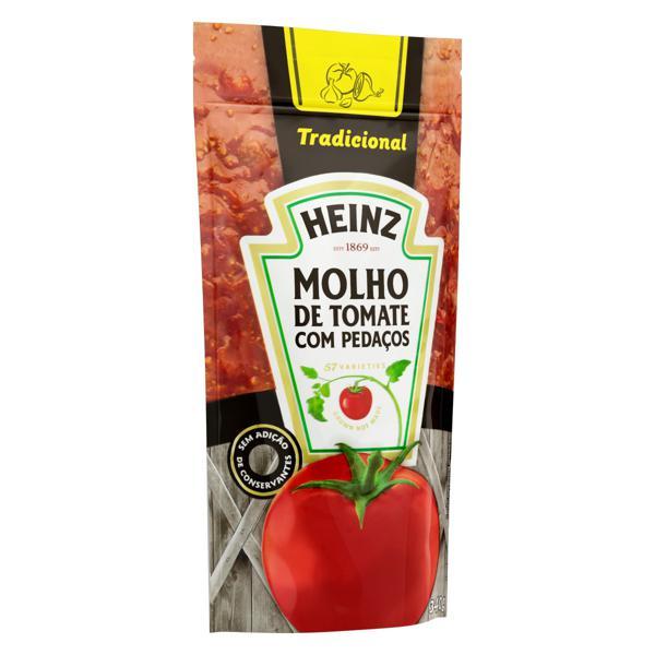 Molho de Tomate Tradicional Heinz Sachê 340g