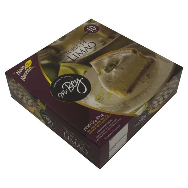 Torta Congelada Limão Mr. Bey Caixa 500g