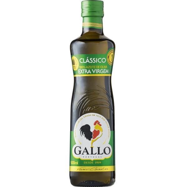 Azeite Gallo 500Ml Extra Virgem Garrafa