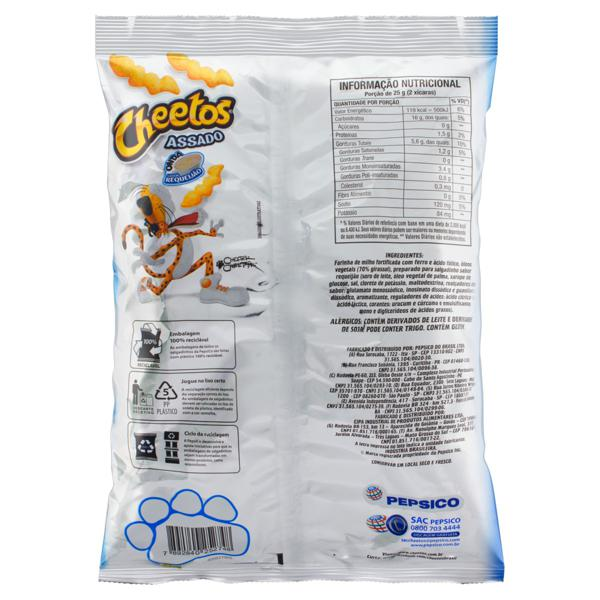 Salgadinho de Milho Onda Requeijão Elma Chips Cheetos Pacote 150g