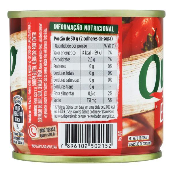 Extrato de Tomate Quero Lata 130g