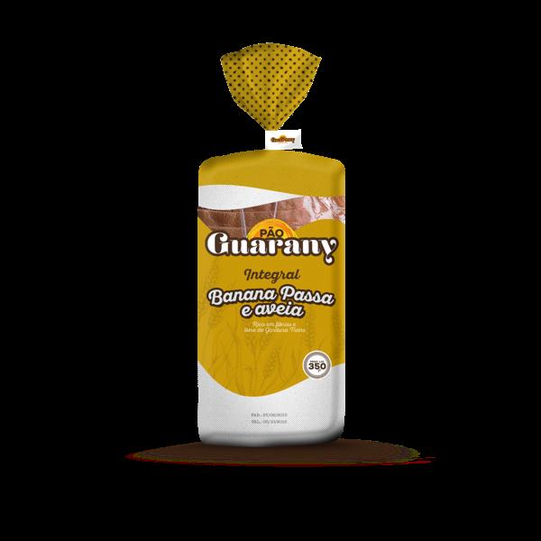 Pão Integral GUARANY Banana Passa 380g