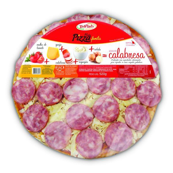 Pizza TRIVALY Calabresa 520g