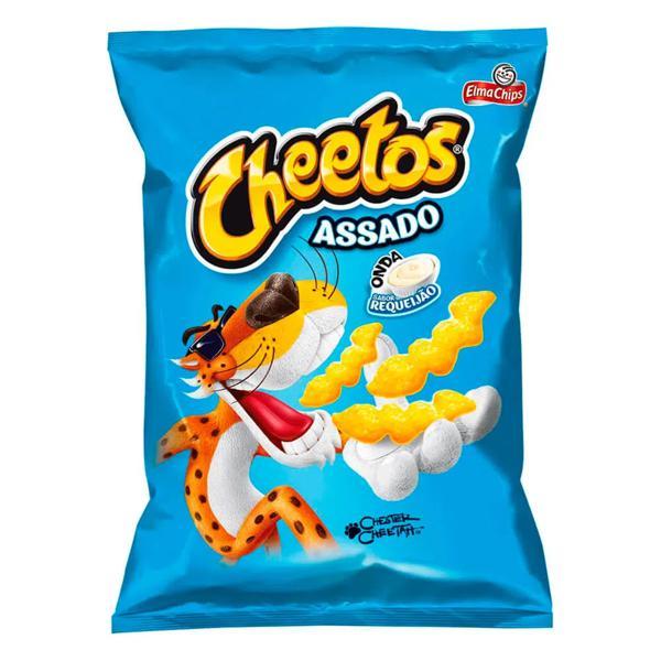 Salgadinho Elma Chips Cheetos Onda Sabor Requeijão 45g