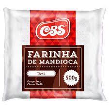 Farinha de Mandioca CBS 500g