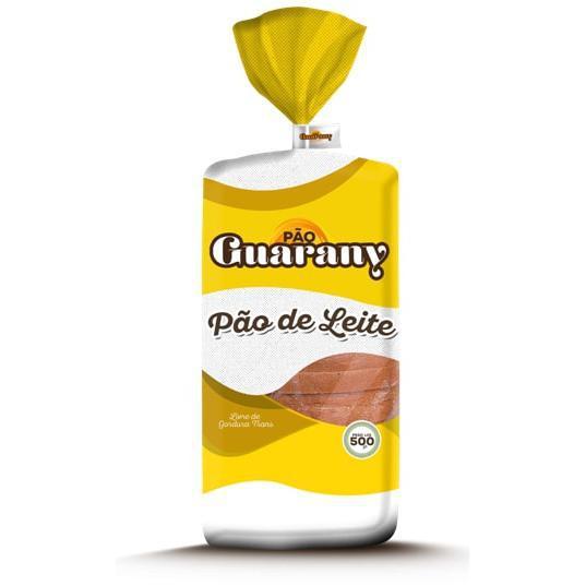 Pão de Forma GUARANY Leite 500g