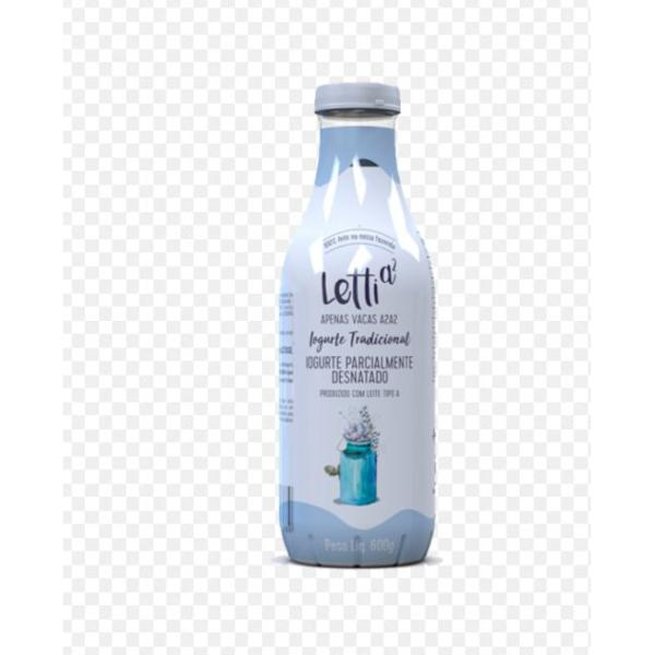 Iogurte Letti Tradicional Tipo A S/ Acucar 600G