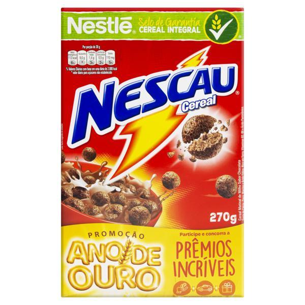 Cereal Matinal Chocolate Nestlé Nescau Caixa 270g
