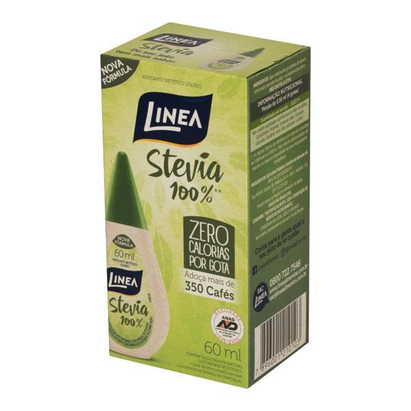 Adoçante Líquido Stevia Linea 60ml