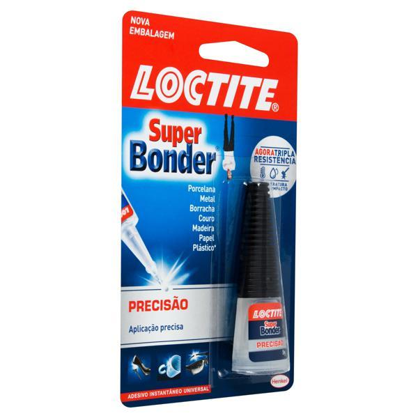 Adesivo Instantâneo Universal Precisão Loctite Super Bonder Blister 5g