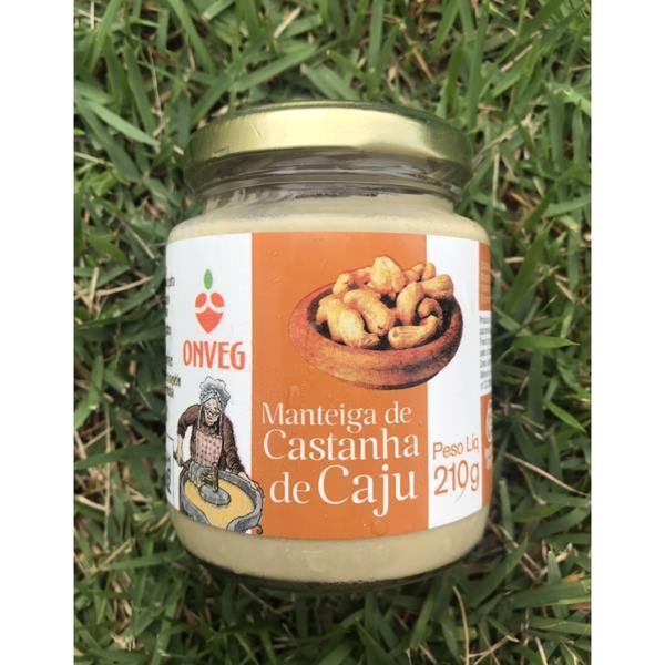 Manteiga de castanha de caju (210g)