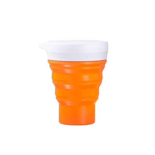 Copo laranja - Menos 1 Lixo