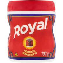 Pack Fermento Químico em Pó Royal Pote 100g