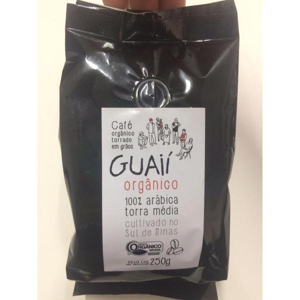 Café Gourmet Orgânico 250g - Guaíí