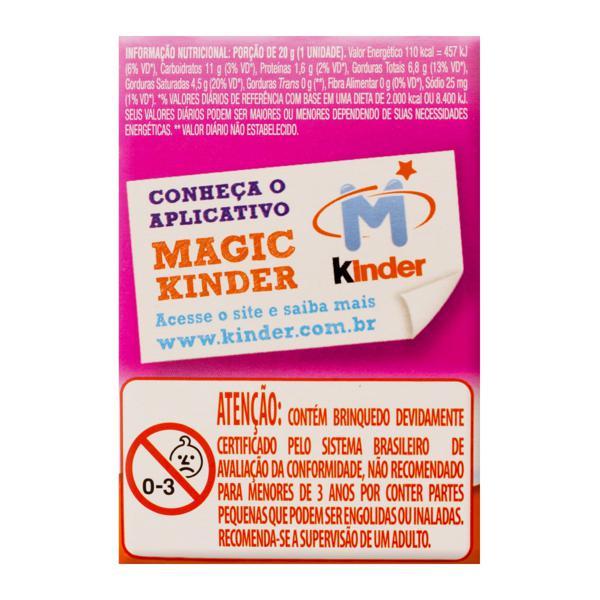 Chocolate ao Leite Meninos e Meninas Kinder Ovo Caixa 20g