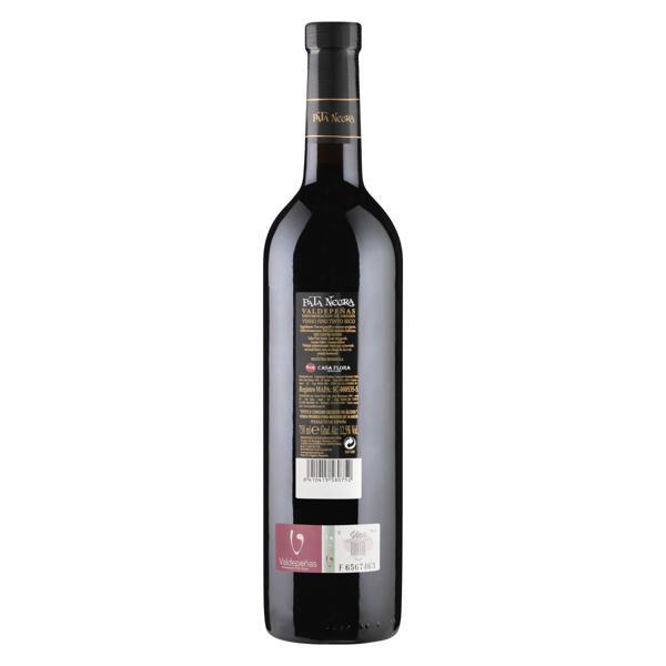 Vinho Espanhol Tinto Seco Pata Negra Cabernet Sauvignon Tempranillo Valdepeñas Garrafa 750ml