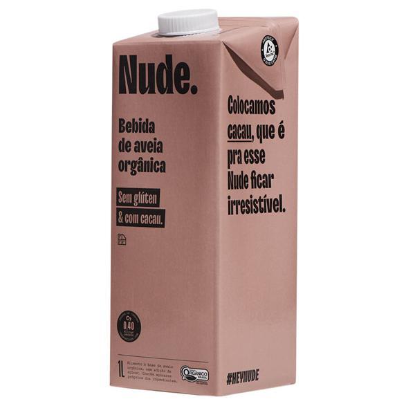 Bebida de Aveia com Cacau Orgânica 1L - Nude