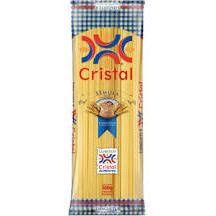 Macarrão CRISTAL Semola Espaguete 500g