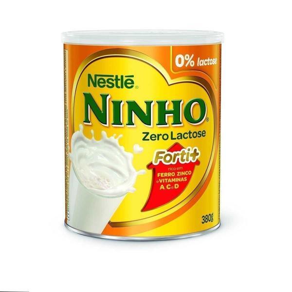 Leite em Pó Ninho NESTLÉ Zero Lactose 380g