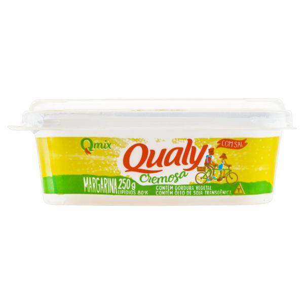 Margarina Cremosa com Sal Qualy Pote 250g