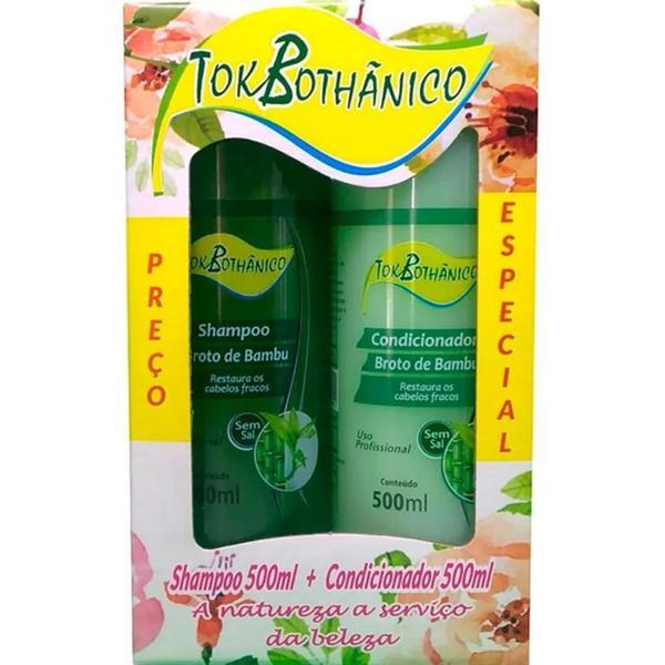Shampoo+Condicionador Tokbothanico 2X1 500Ml Babosa