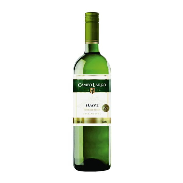 Vinho Campo Largo Branco Suave 750Ml