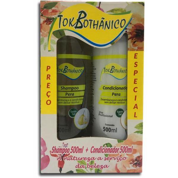 Shampoo+Condicionador Tokbothanico 2X1 500Ml Pera