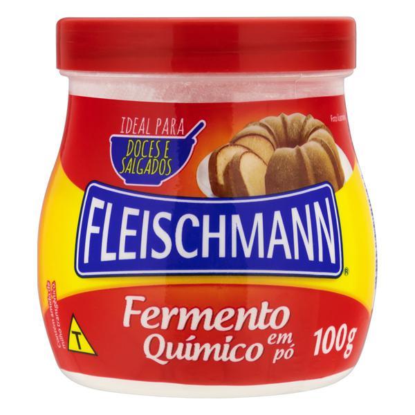 Fermento Químico em Pó Fleischmann Pote 100g