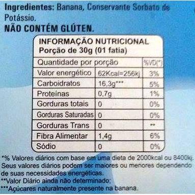 Bananinha Diet Cremosa Famoso 200g