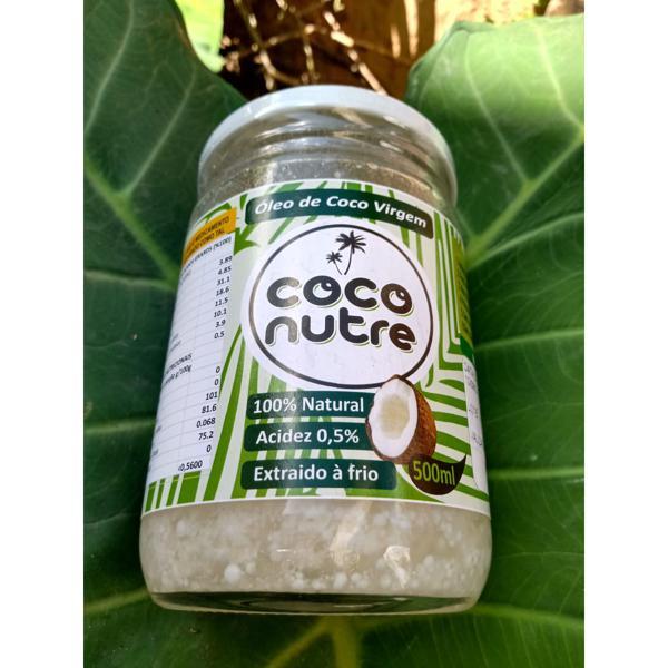 Óleo de coco Coco Nutre 500g - Wylogus