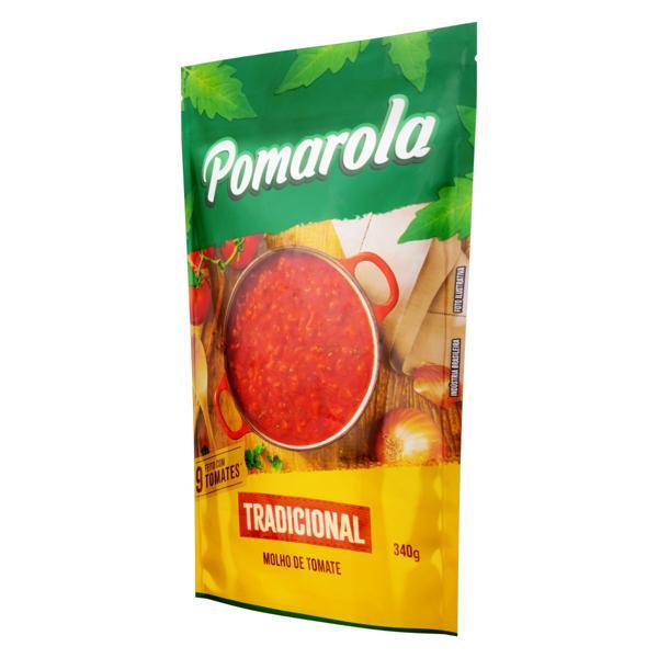 Molho de Tomate Tradicional Pomarola Sachê 340g