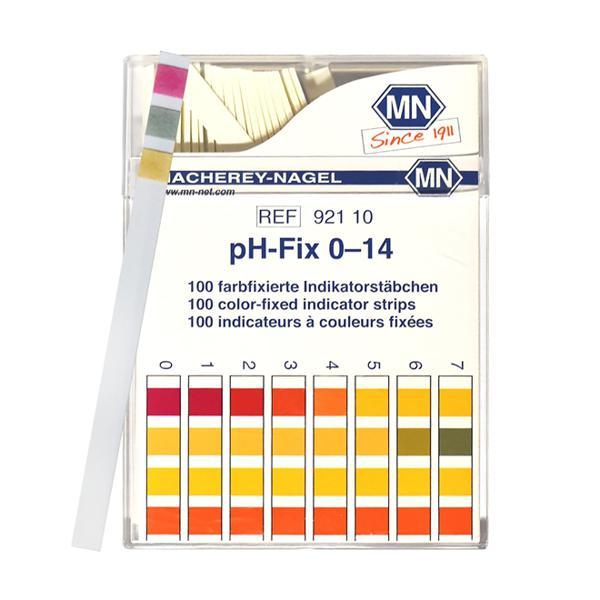 Tiras para medir pH 0 a 14