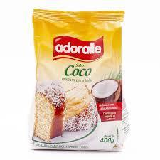 Mistura Bolo Adoralle 400G Coco