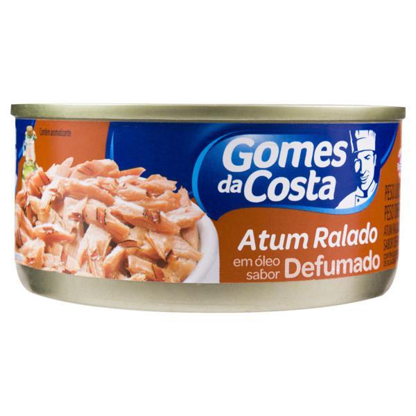 Atum Ralado em Óleo Defumado Gomes da Costa Lata 130g