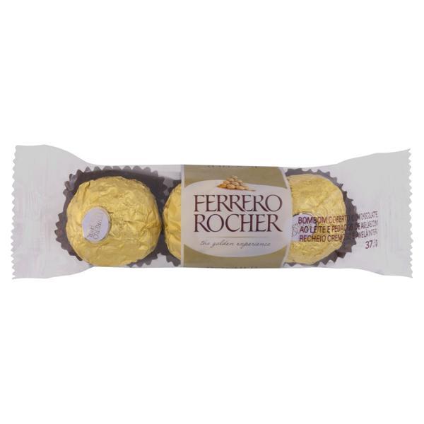 Bombom Ferrero Rocher Pacote 37,5g