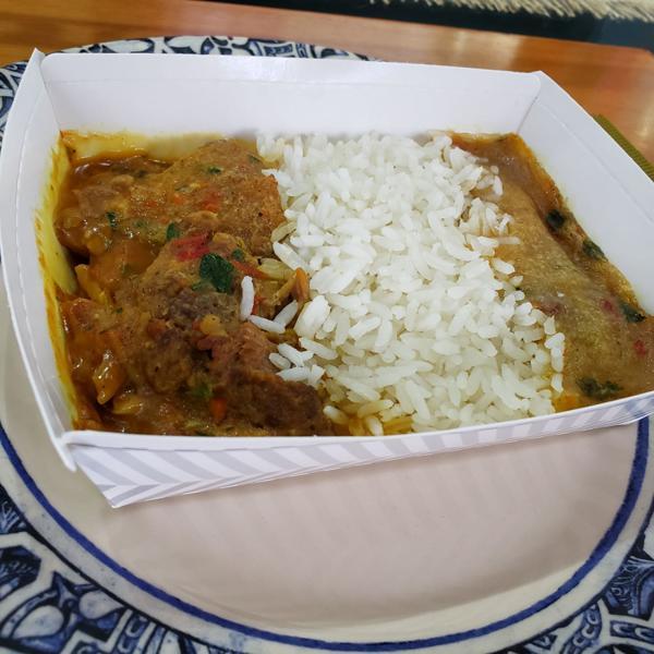 Frango ao Molho (acompanhado de arroz e pirão) 350g