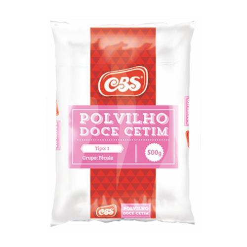 Polvilho CBS 500G CETIM DOCE