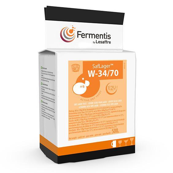 Fermento SafLager™ W-34/70 - Fermentis 500g