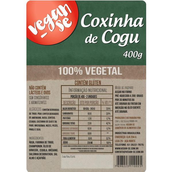 Coxinha de Cogu  400g