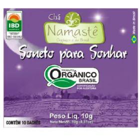 Chá Soneto para Sonhar Namastê 10g