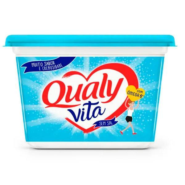 Creme Vegetal QUALY Vita Sem Sal 500g