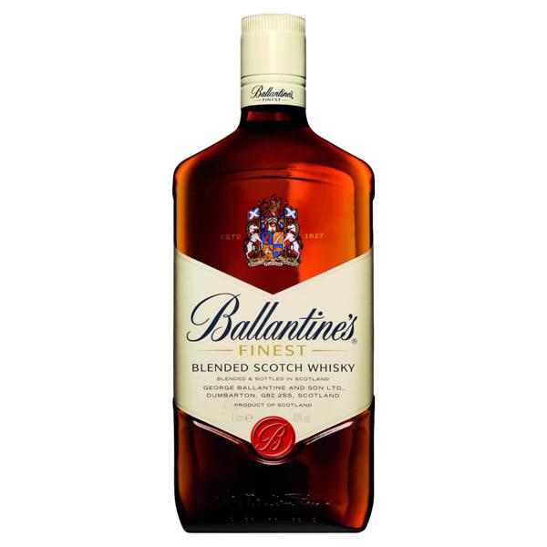 Whisky Escocês Blended Finest Ballantine's Garrafa 1l
