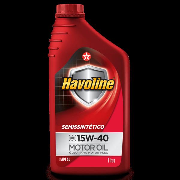 Óleo Motor Texaco 1Lt Havoline Semissintético Sae 15W-40 Motor Oil