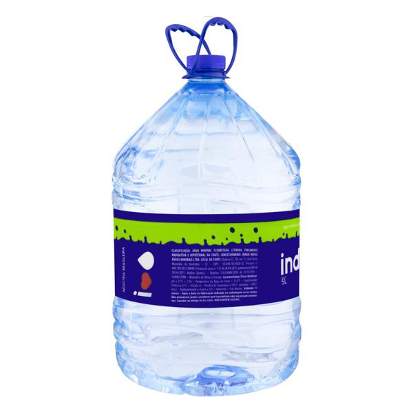 Água Mineral Natural sem Gás Indaiá Galão 5l