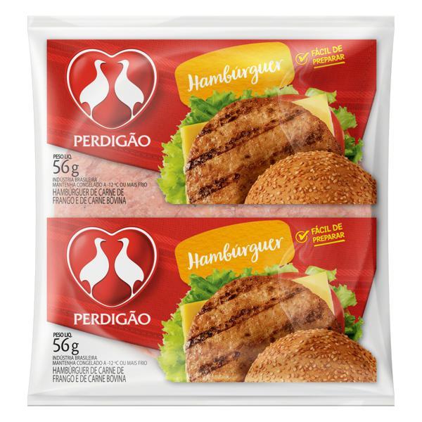 Hambúrguer de Carne de Frango e Bovina Perdigão Pacote 56g
